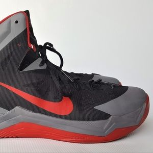 NIKE ZOOM HYPER QUICKNESS RED COOL GREY US13
